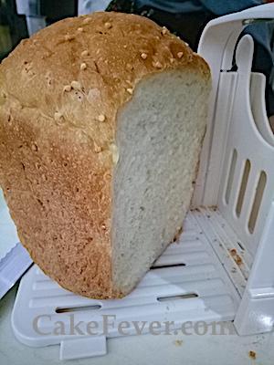 Bread Slicer untuk membantu memotong roti dengan ketebalan yang sama
